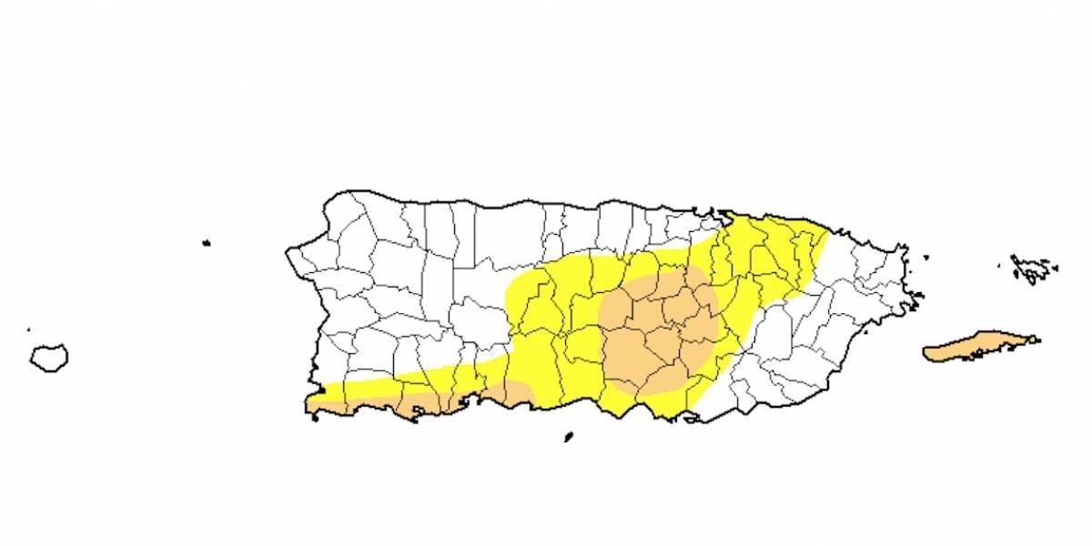 Sigue la sequía moderada en 22 pueblos