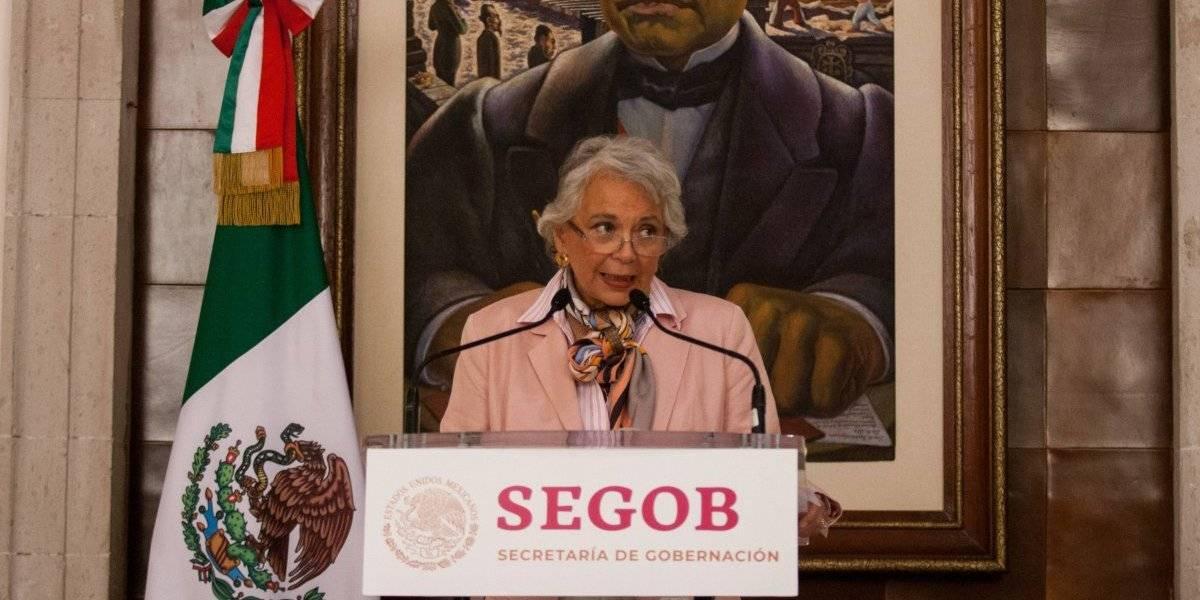 Sostiene Sánchez Cordero que migrantes no pueden violar la ley