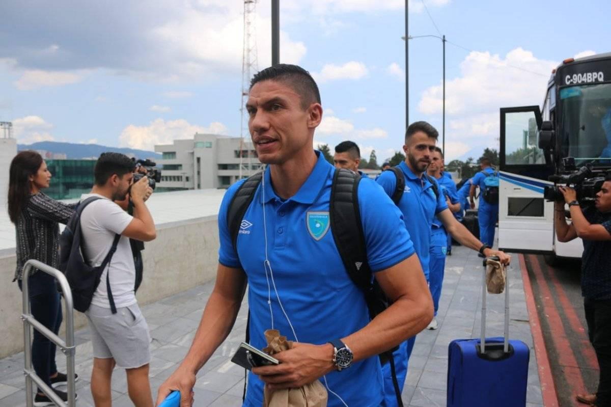 Fedefut | Carlos Gallardo, hoy jugador de Municipal captado previo al viaje a sudamerica.