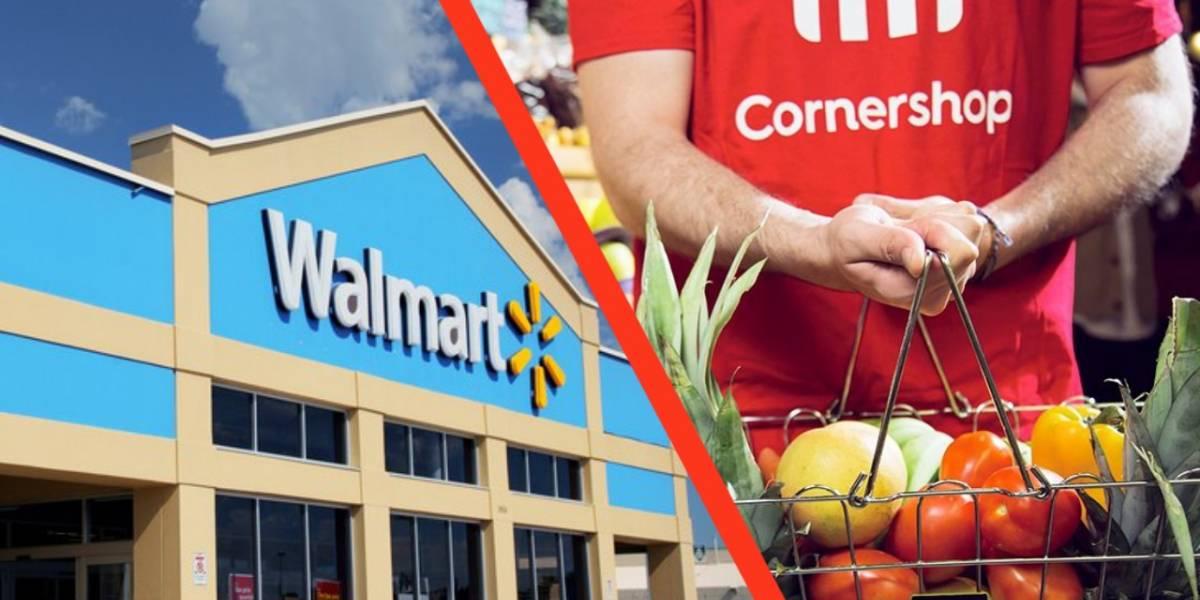 Urgente: Cornershop confirma que negocio millonario con Walmart no se realizará