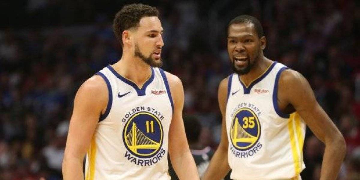 Warriors esperan tener a Thompson y Kevin Durant para el juego 4 de hoy