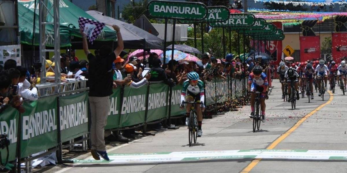 Andrea Ramírez gana el subcampeonato de la Vuelta a Guatemala 2019