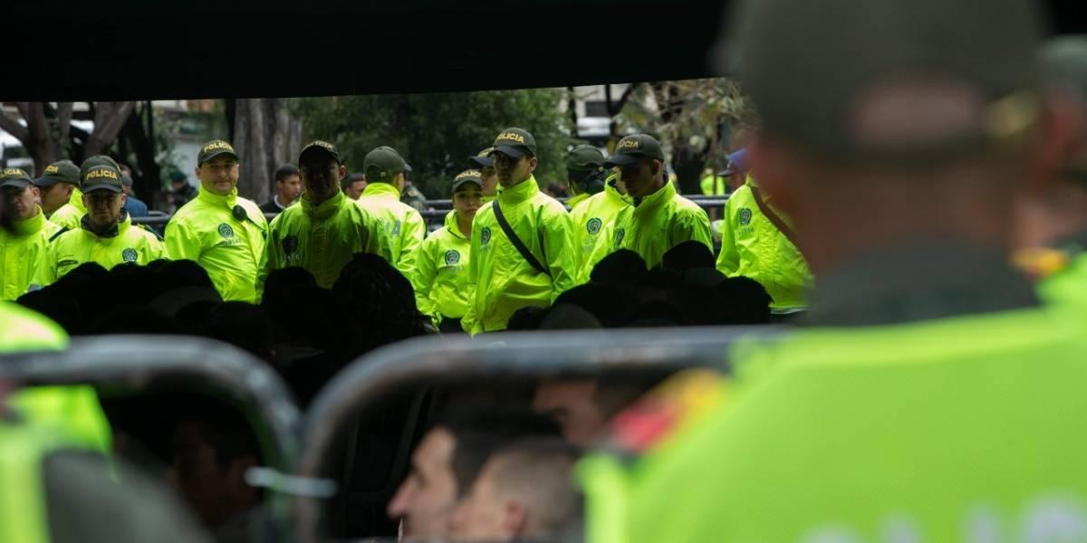 Militar salvó de ser linchado a un hombre acusado de ser ladrón de bicicletas en Bogotá