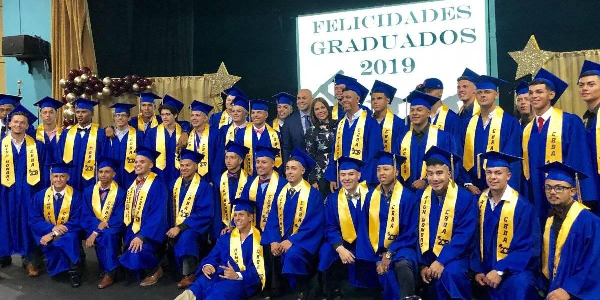 Carlos Beltrán Baseball Academy celebra su séptima graduación de estudiantes atletas