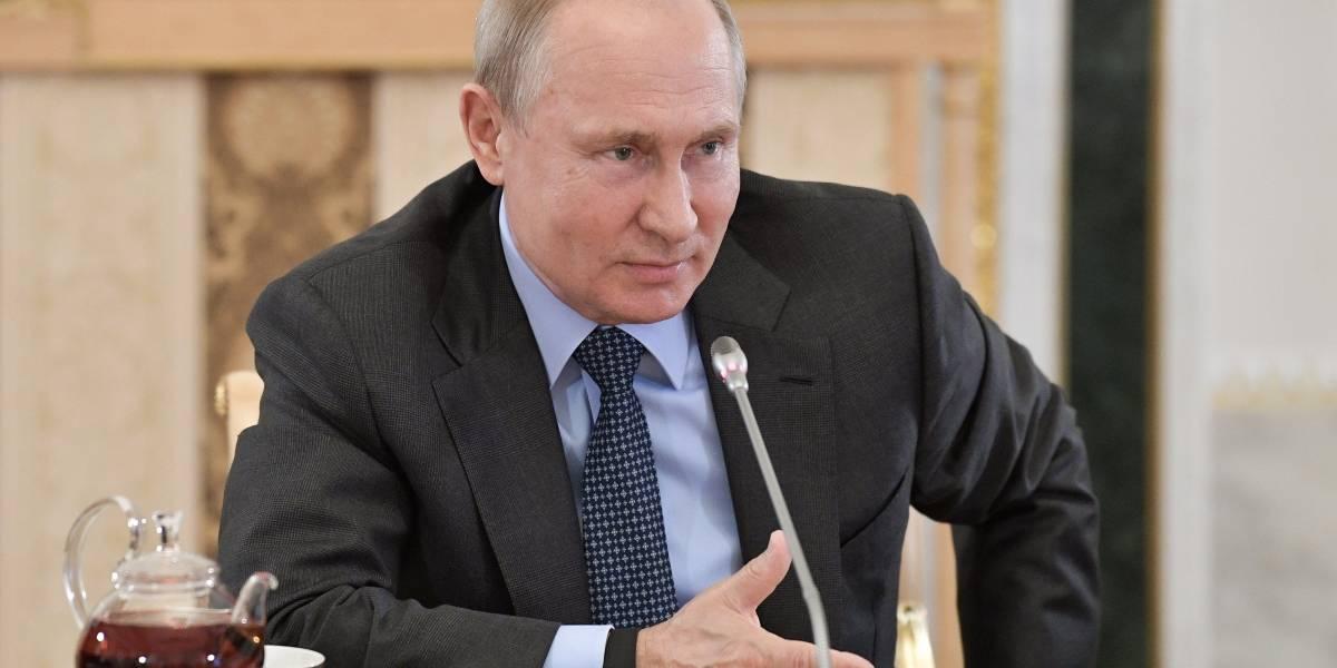 """Rusia estará """"forzada"""" a fabricar nuevos misiles si EU lo hace: Putin"""