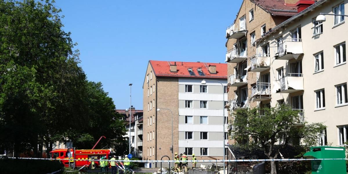 Potente explosión sacude dos edificios y deja 25 personas heridas en Suecia