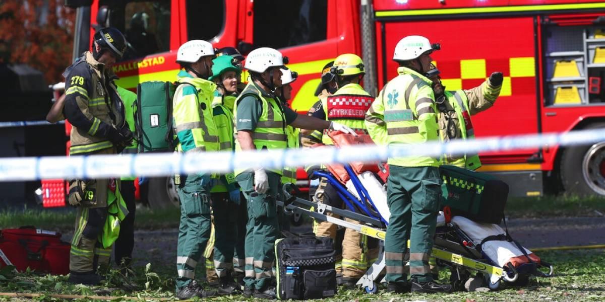 25 heridos por explosión en Suecia