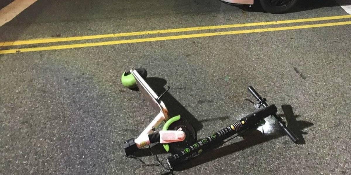Alerta mundial por aumento de uso de scooters: se elevan los accidentes protagonizados por las patinetas eléctricas