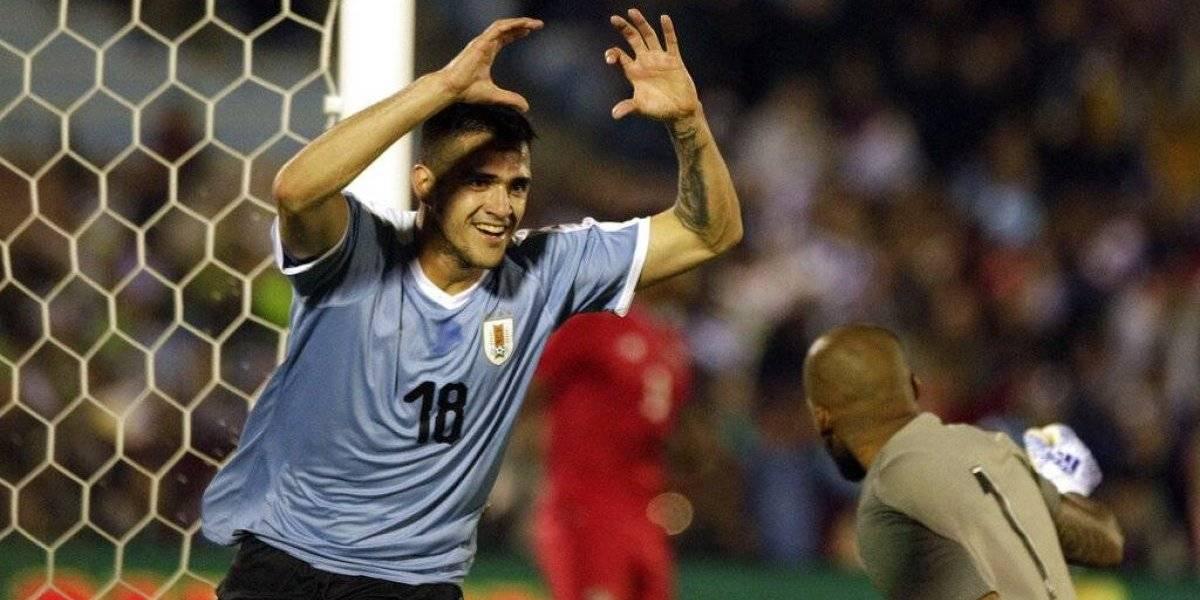 Uruguay golea 3-0 a Panamá en fogueo para la Copa América