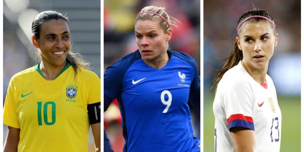 Diez jugadoras a seguir en el Mundial Femenil Francia 2019