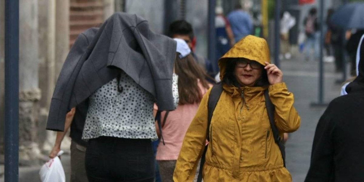 Activan Alerta Amarilla para 9 alcaldías por caída de lluvia y granizo