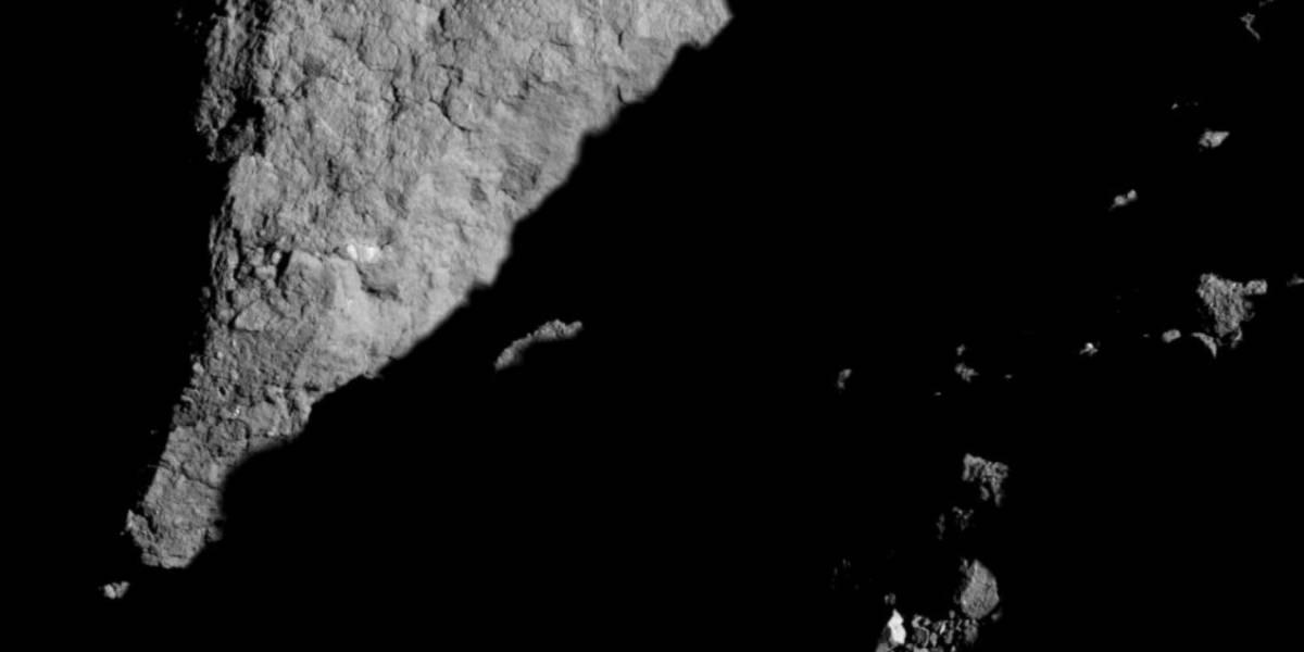 Sonda OSIRIS-REx revela imagem inédita do asteroide Bennu