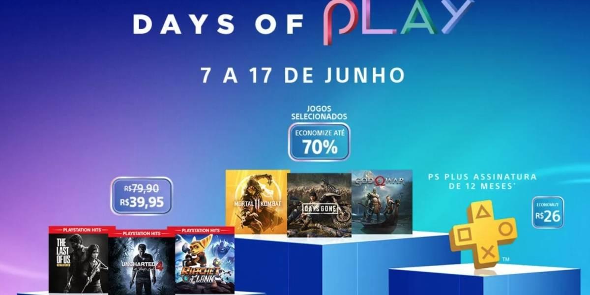 Promoção 'Days of Play' chega à PlayStation Store