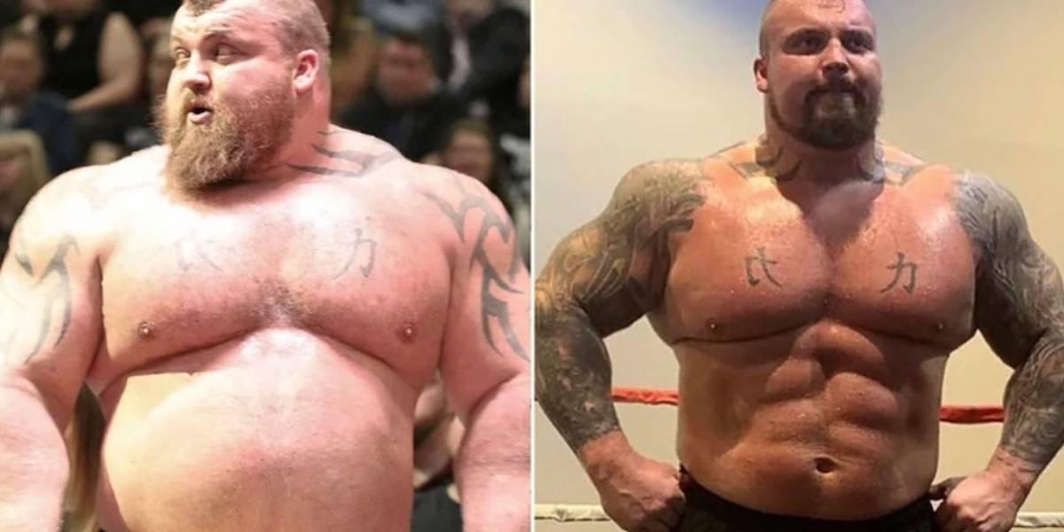 Ex-'homem mais forte do mundo' mostra incrível mudança: perdeu mais de 40 quilos