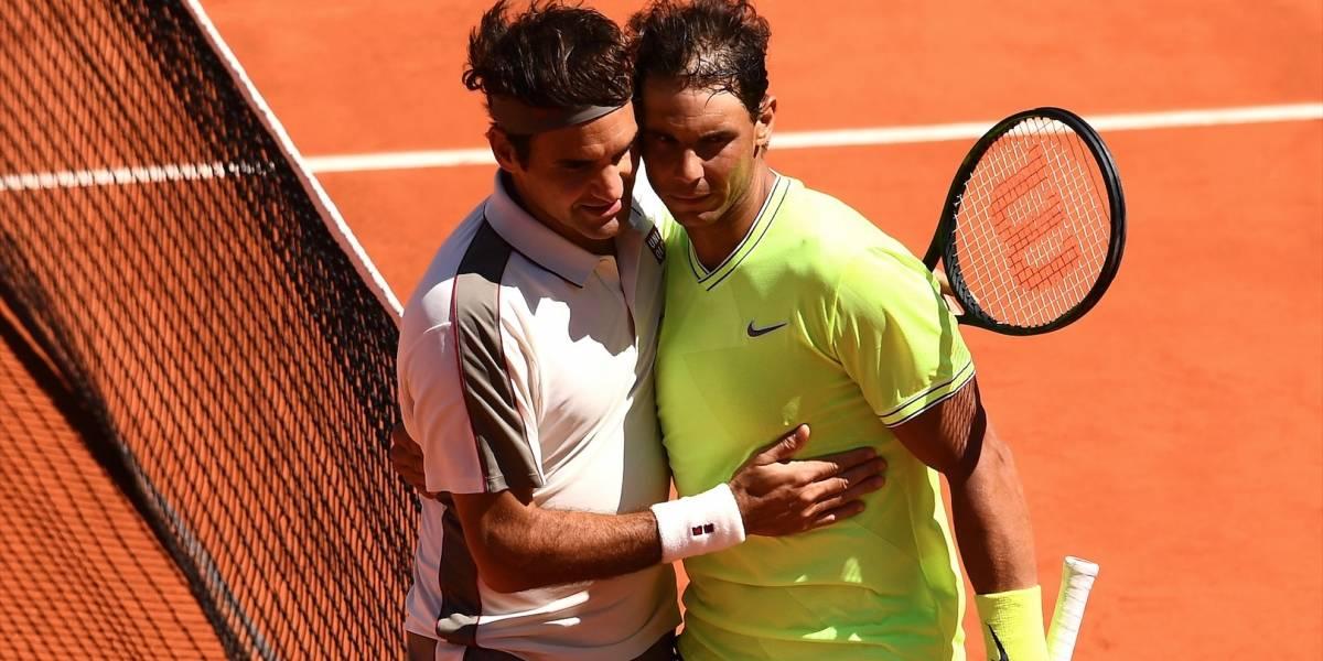 ¡Una 'fiera' anda suelta en París! Rafael Nadal venció a Roger Federer en Roland Garros