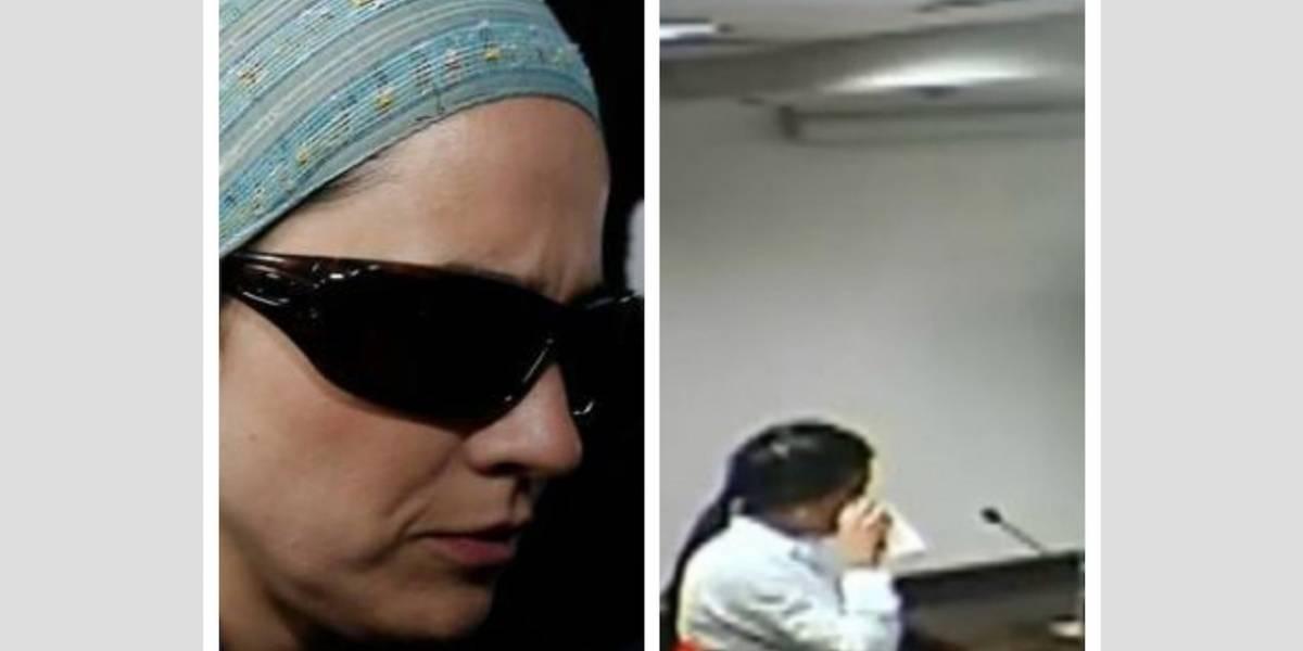 Catalina Uribe Noguera entró en llanto al recordar cómo se comportaba su hermano con su hija