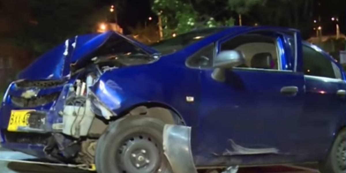 Ladrones se robaron un carro y minutos después protagonizaron grave accidente