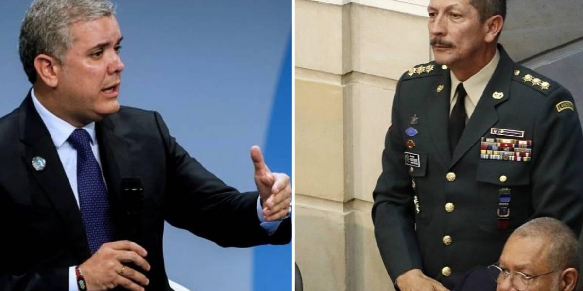 La defensa de Duque a Nicacio Martínez y su cúpula militar