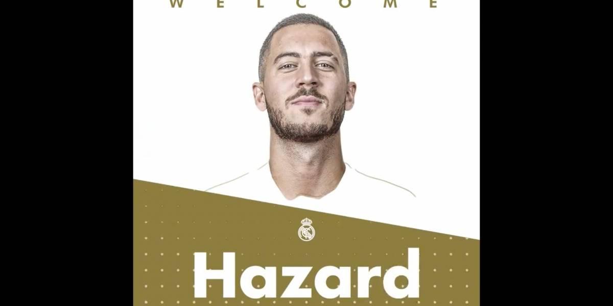 ¡Oficial! El exorbitante sueldo que Eden Hazard ganará en el Real Madrid en las próximas temporadas