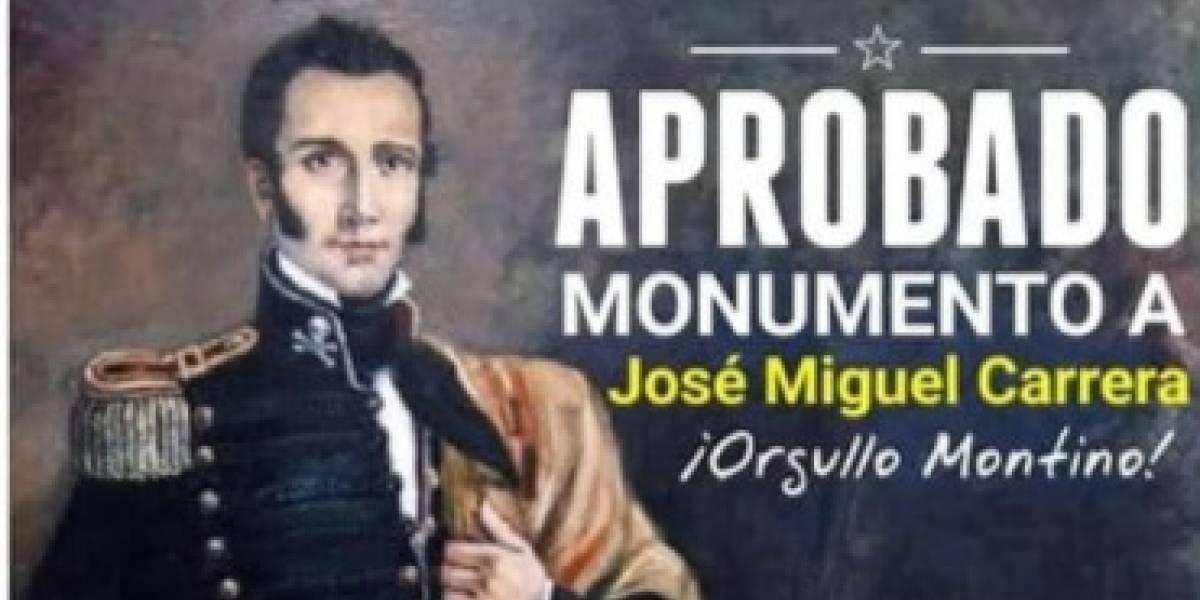 ¿Ramo de Historia optativo? Diputado Coloma se llenó de burlas en redes tras confundir a José Miguel Carrera con Manuel Rodríguez