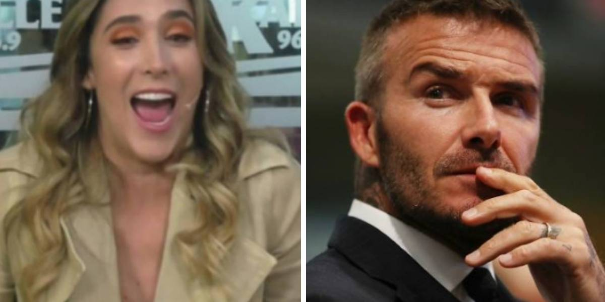 Daniela Ospina y David Beckham fueron vistos juntos en Medellín