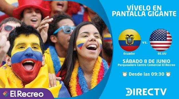 Ecuador vs Estados Unidos