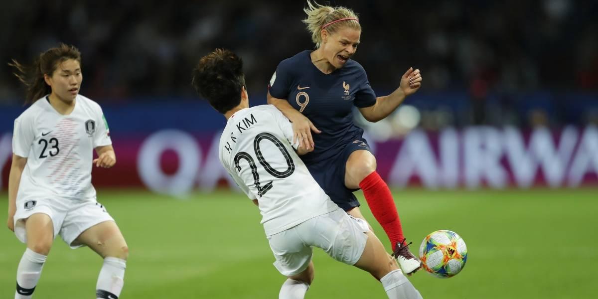 Francia debuta con goleada en el Mundial femenino