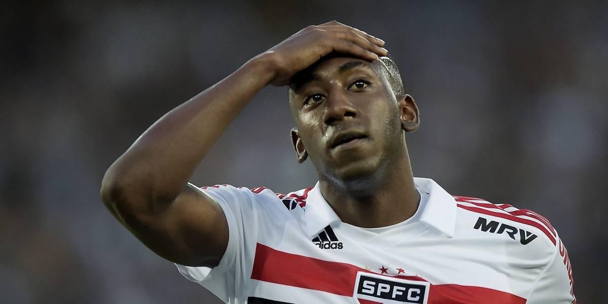 São Paulo suspende contrato de jogador uruguaio flagrado em exame antidoping