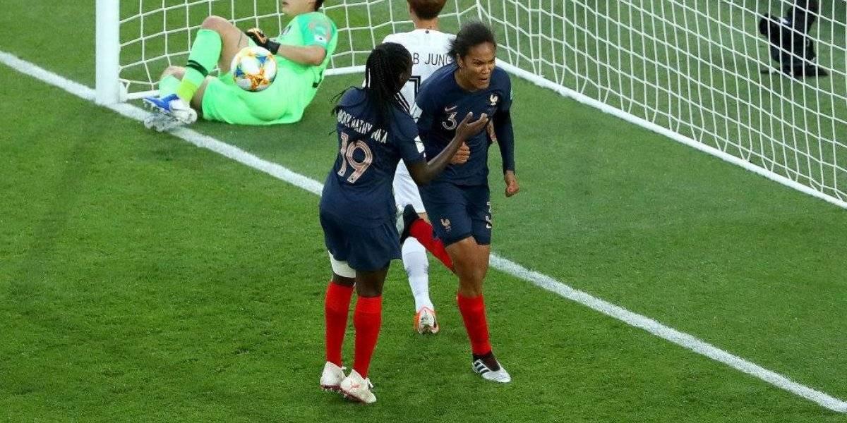Francia golea a Corea del Sur en el debut del Mundial Femenino y saca chapa de favorito