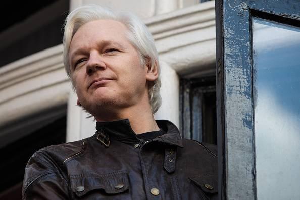 Julian Assange Getty