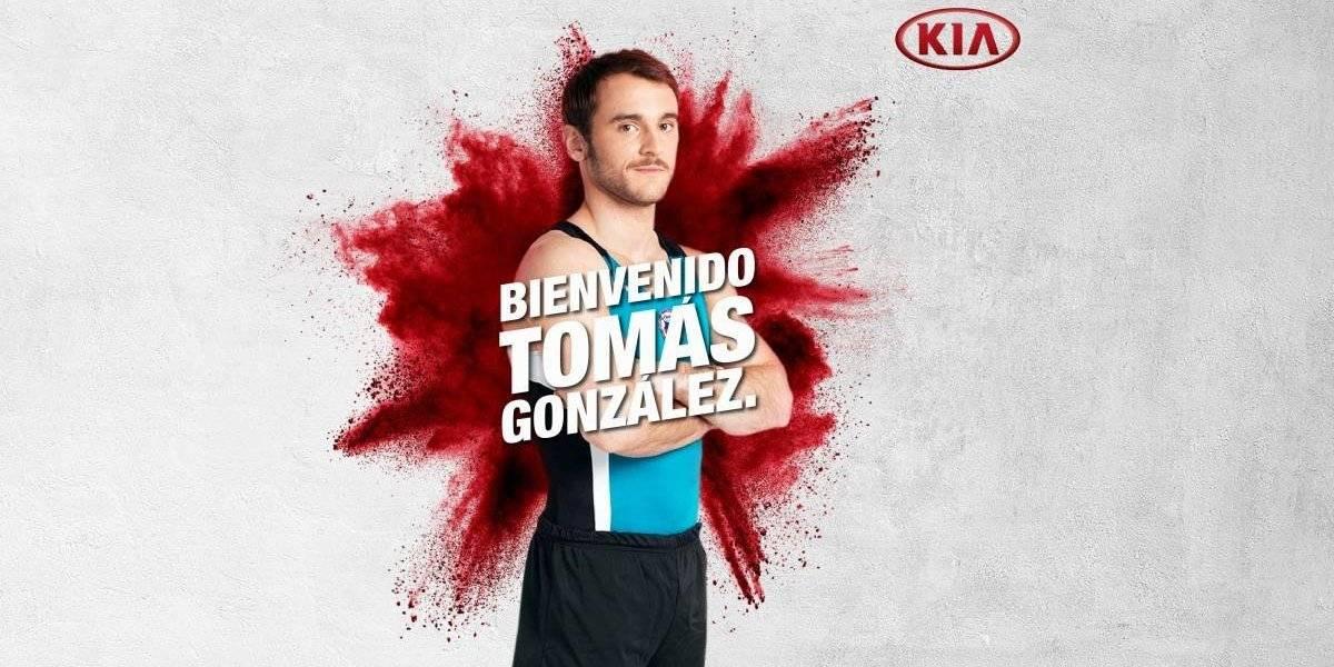 Kia suma a sus filas deportivas a Tomás González