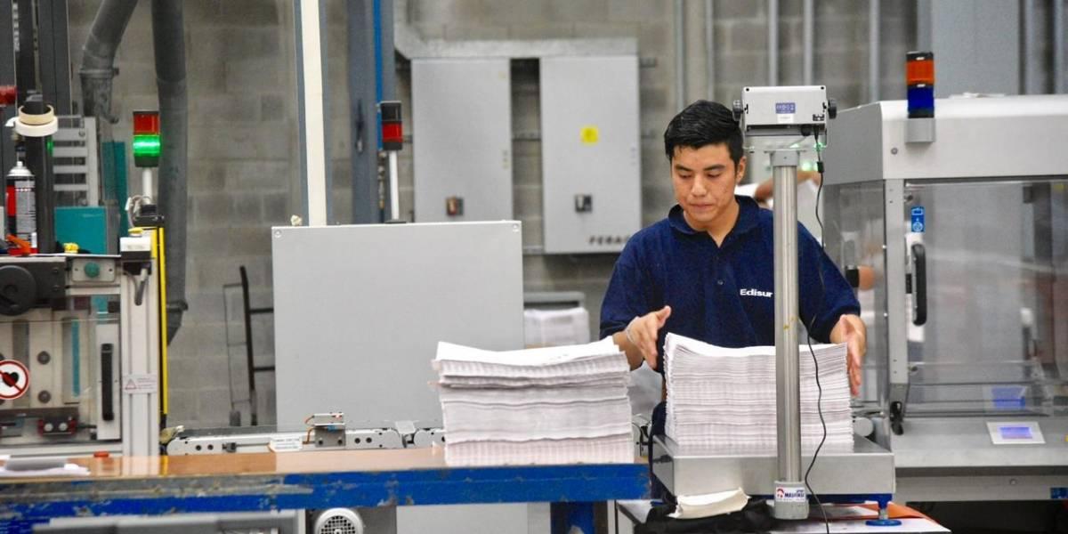 Finalizan impresión de papeletas para municipios que repetirán elecciones