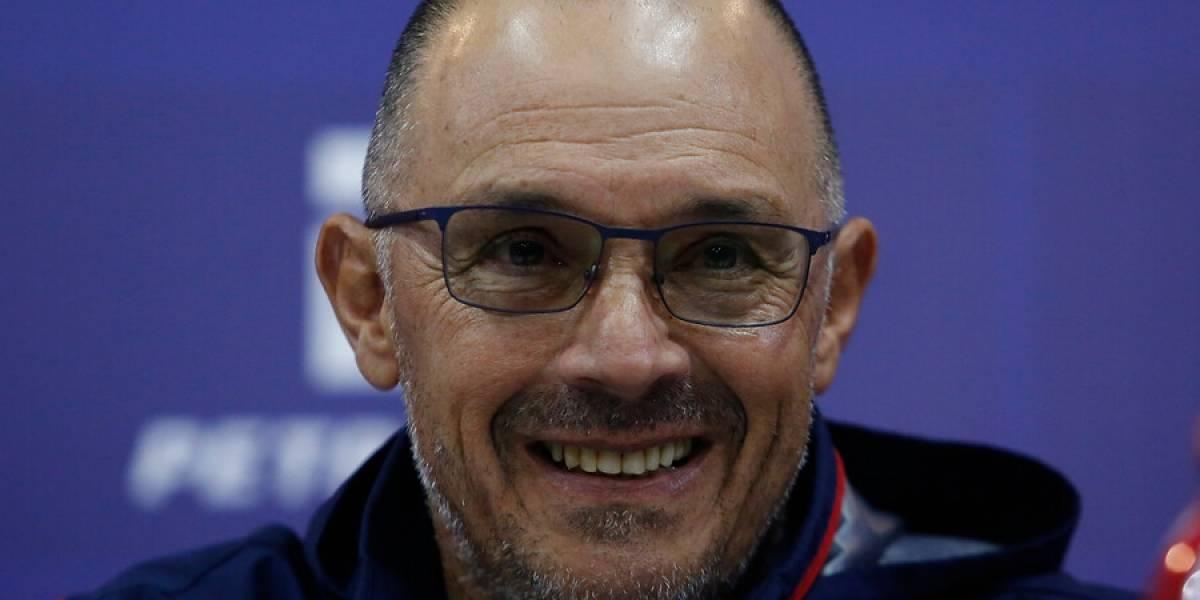 """Arias no se preocupa de los fichajes en la U: """"El mejor refuerzo es el tiempo y mi foco sólo está en Rangers"""""""