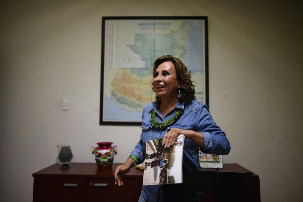 Sandra Torres participa en las elecciones generales de 2019 con el partido UNE. Edwin Bercián