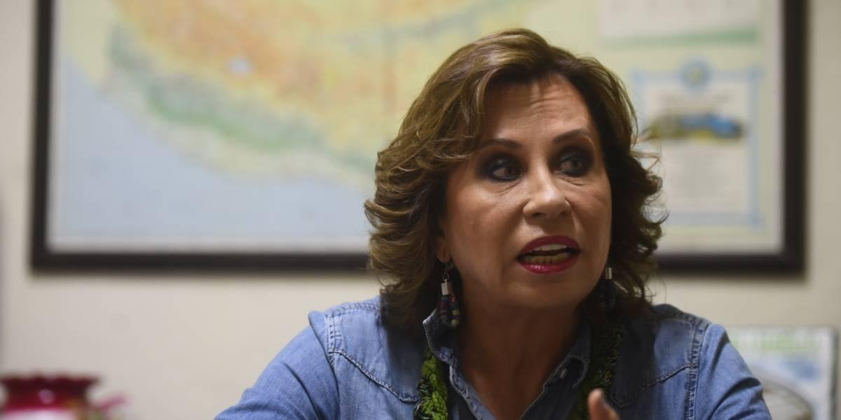El 10 de la candidata: Sandra Torres, presidenciable de la UNE