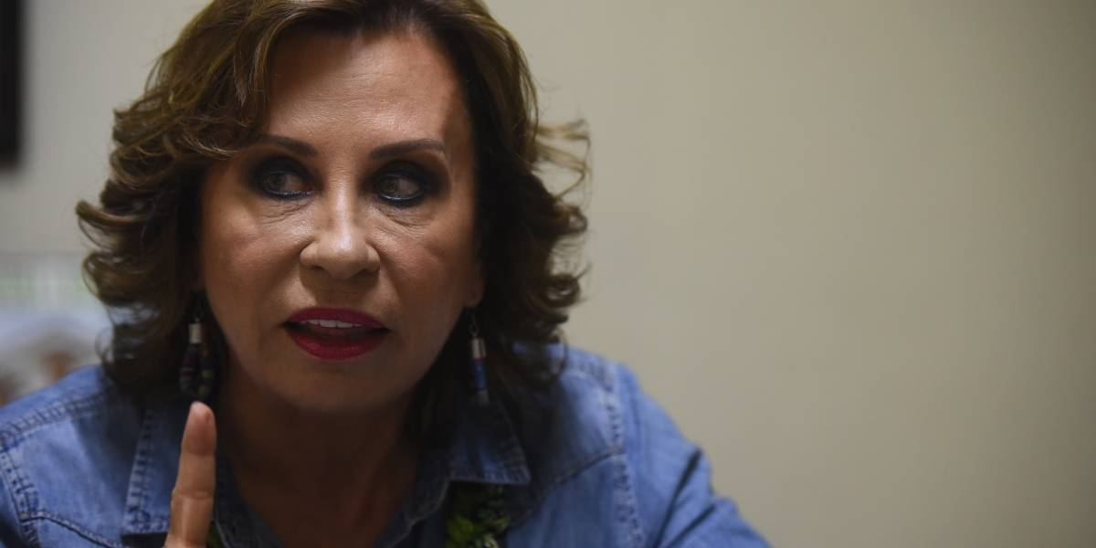 El análisis del candidato: Sandra Torres, presidenciable del partido UNE