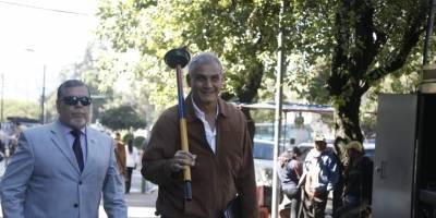 Fabricio Correa acudió a Fiscalía con un destapacaño