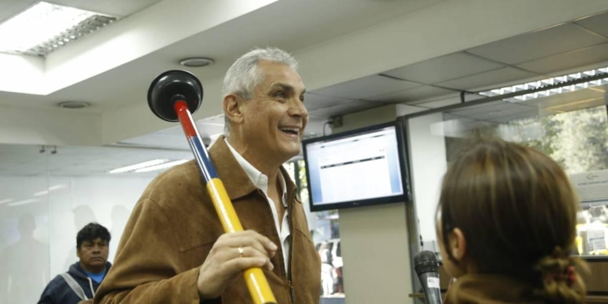 Fabricio Correa, precandidato presidencial por Justicia Social