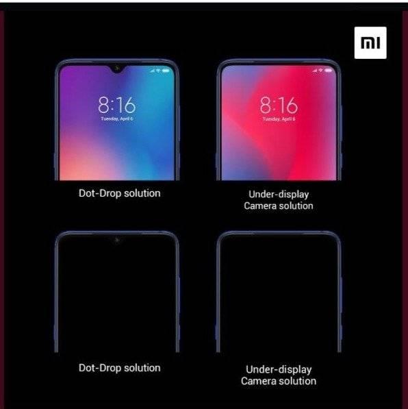 Xiaomi entrega mayores detalles sobre como funciona su cámara debajo de la pantalla