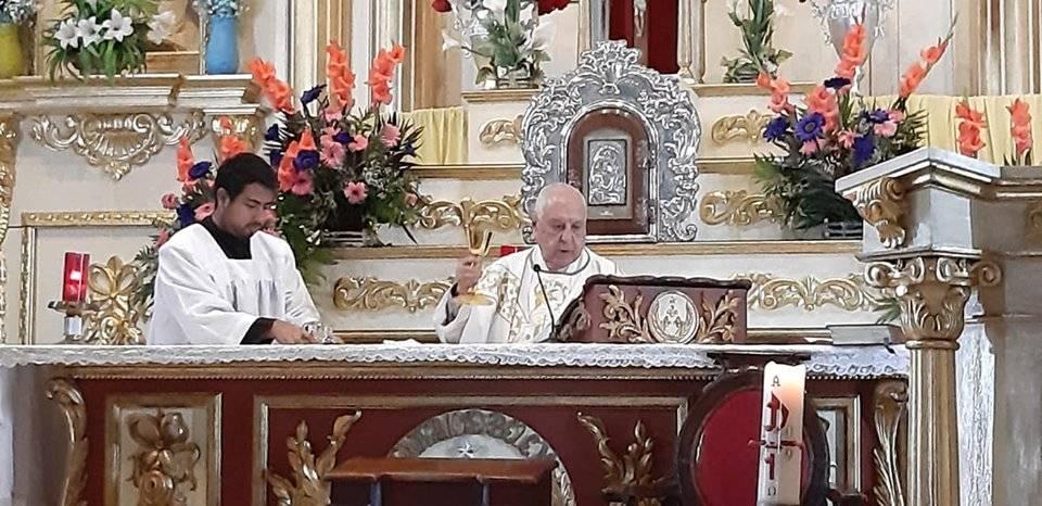 misa en latín Beaterio de Belén