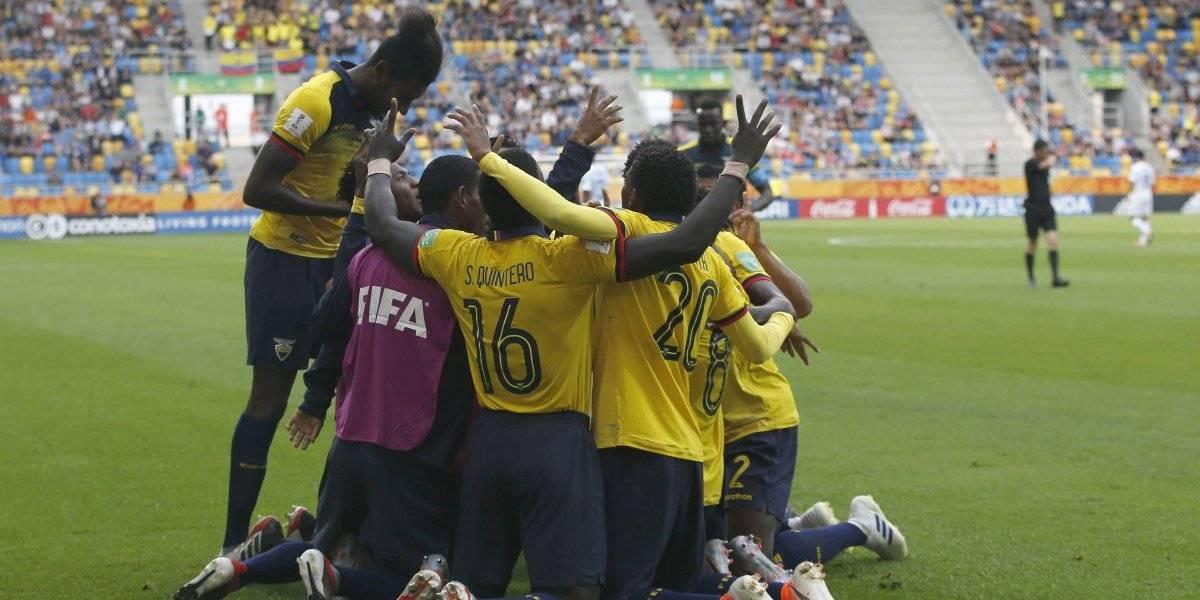 Ecuador dio el golpe frente a Estados Unidos y es el único sudamericano con vida en el Mundial Sub 20