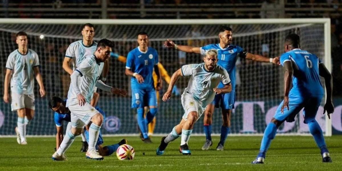 Argentina y Messi se dan un paseo ante Nicaragua