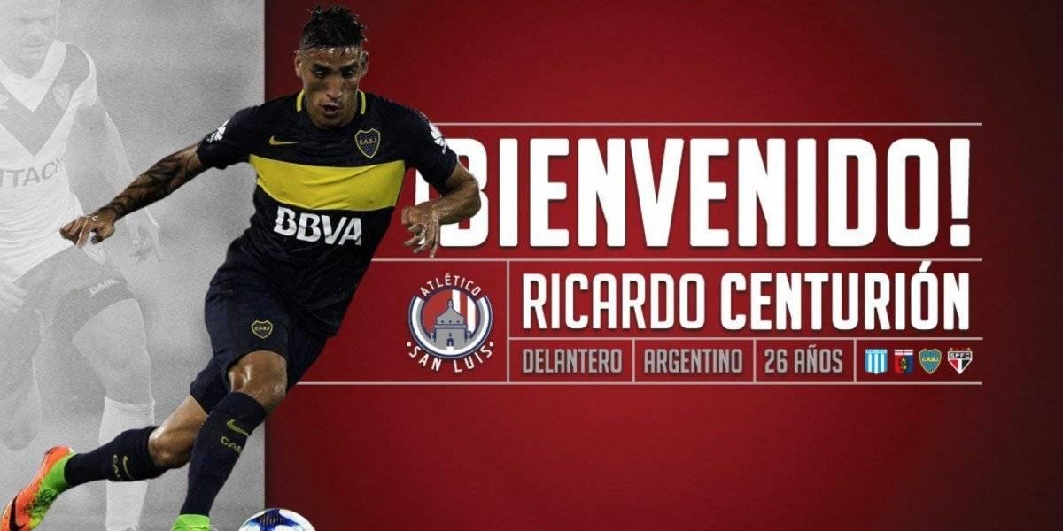 Ricardo Centurión es nuevo jugador del Atlético de San Luis