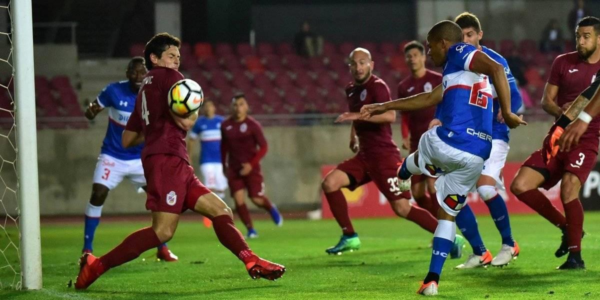 Universidad Católica no logra romper la defensa de La Serena y cae en la ida por Copa Chile