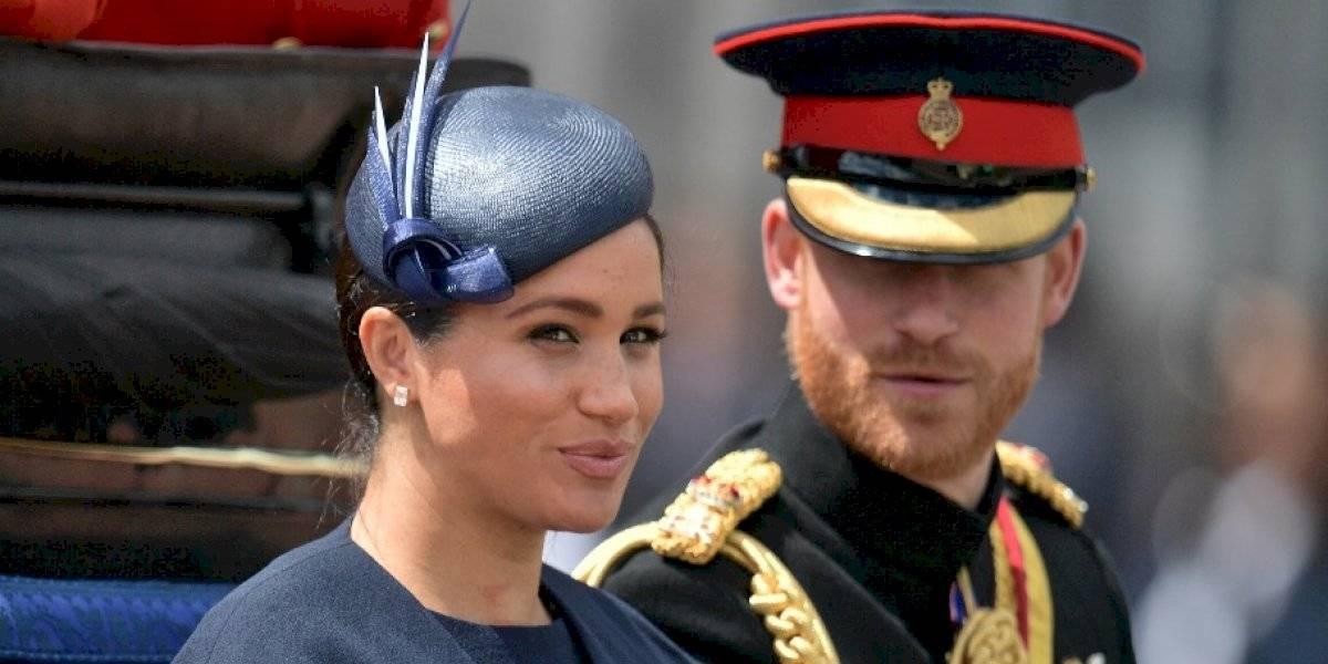 VIDEO. El príncipe Harry regaña a Meghan Markle en pleno evento público