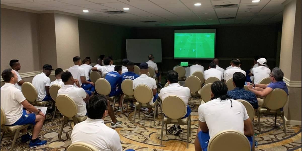 Los jugadores del 'Bolillo' Gómez también festejaron el triunfo de Ecuador Sub 20