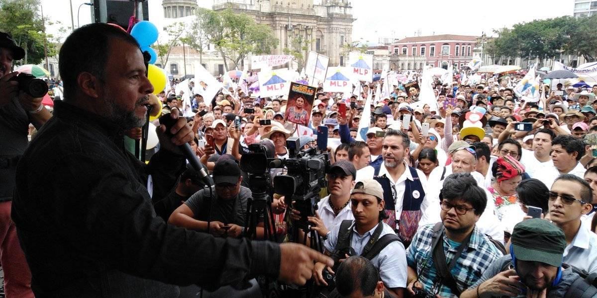 Cierre de campaña del MPL. Foto: MLP