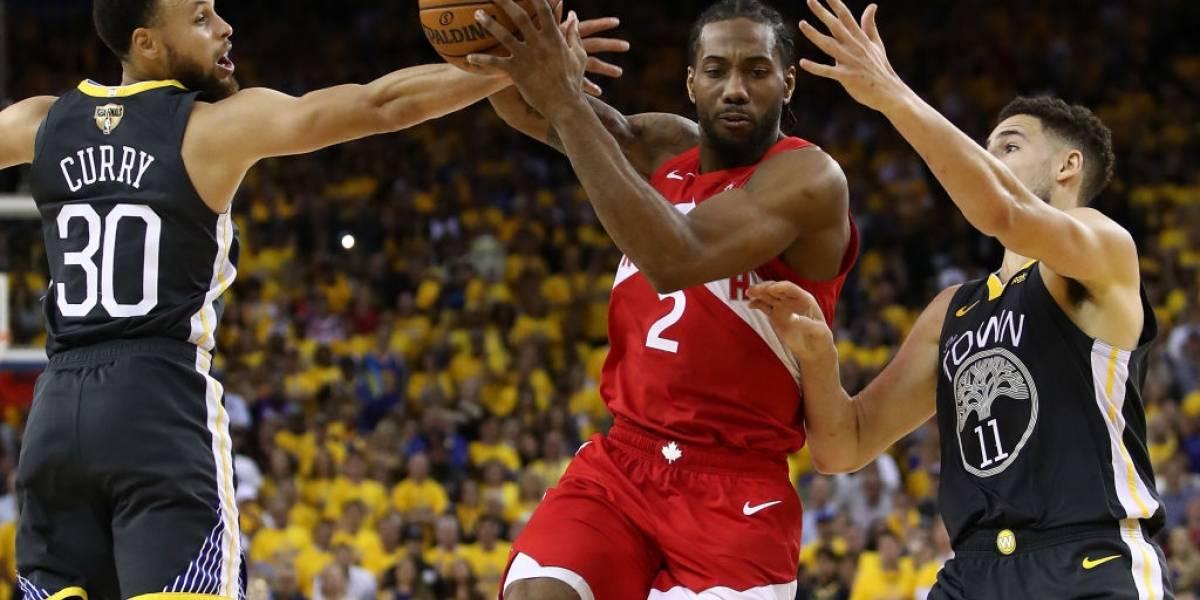 NBA: Toronto Raptors derrotó a Golden State Warriors y quedó a un triunfo de coronarse campeón