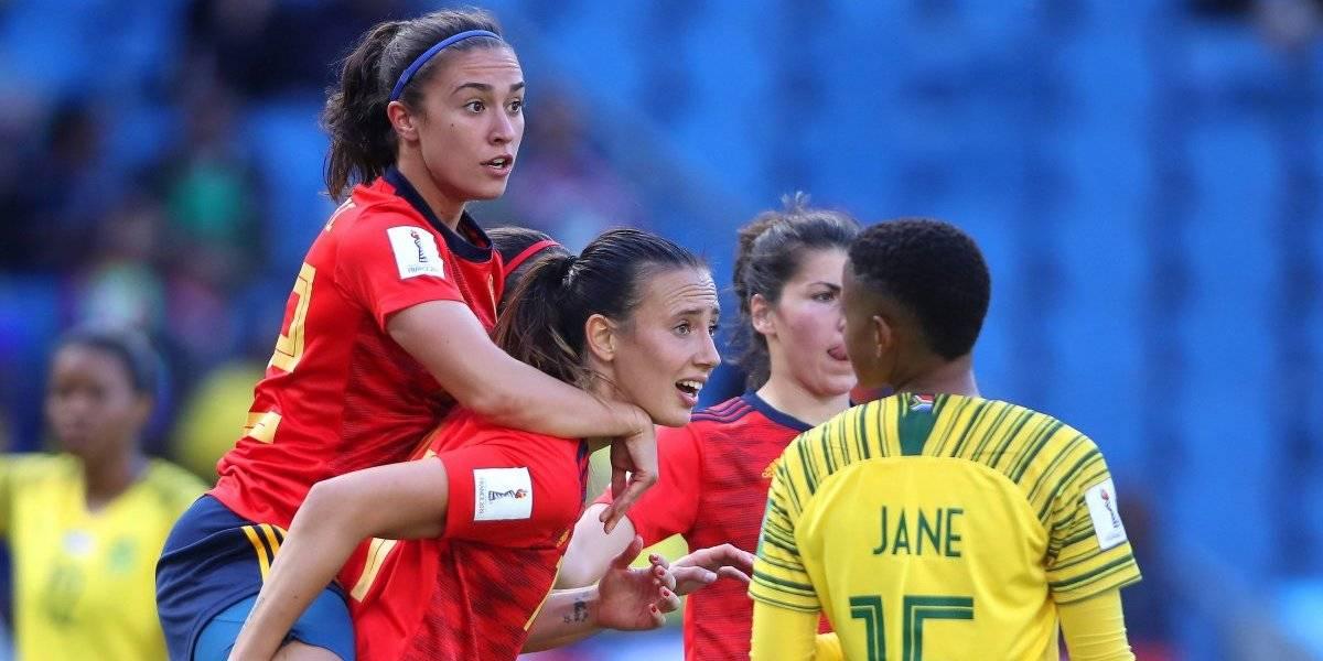 España debuta en el Mundial Femenil con triunfo sobre Sudáfrica