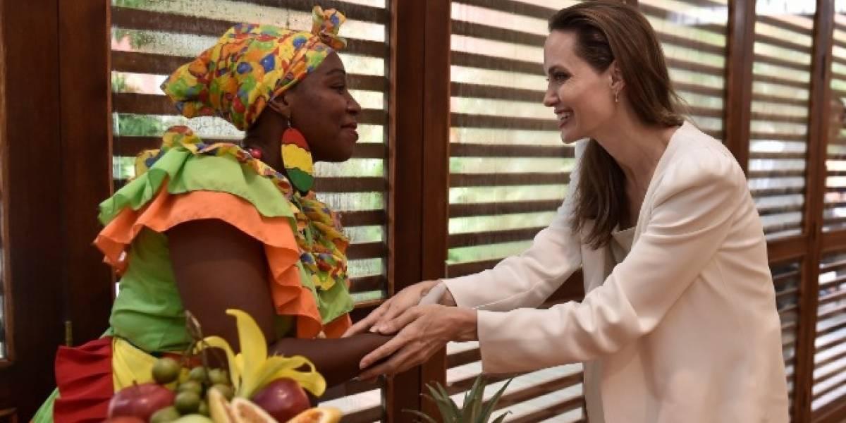 La impresión que se lleva Angelina Jolie sobre Colombia